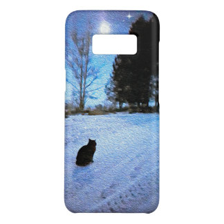 Under A Tabby Moon Samsung S8 Phone Case