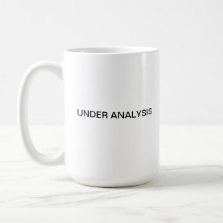 Under Analysis Coffee Mug
