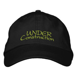 Under Construction Embroidered Hat