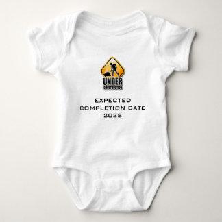 Under Construction Funny Baby Grow Baby Bodysuit