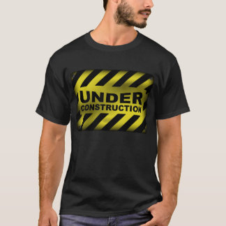 Under Construction Sign T-Shirt