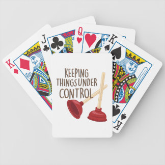 Under Control Bicycle Playing Cards