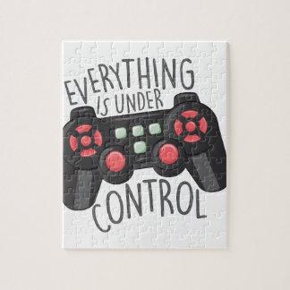 Under Control Jigsaw Puzzle