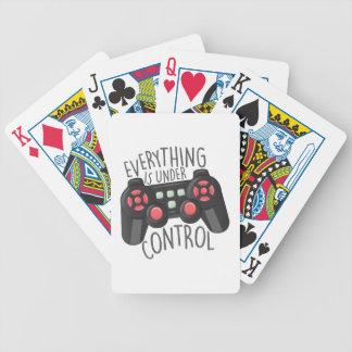 Under Control Poker Deck
