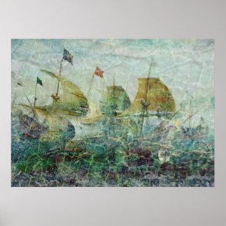 Under Full Sail Print