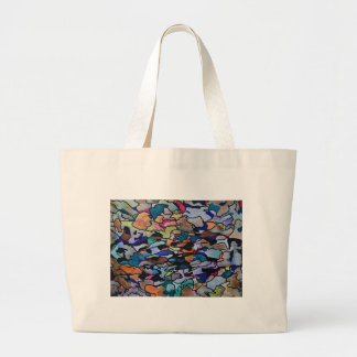 Under leaf litter large tote bag
