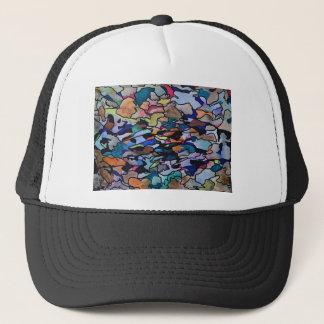 Under leaf litter trucker hat