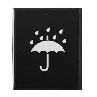 Under My Umbrella Pictogram iPad Caseable Folio iPad Folio Case