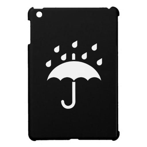Under My Umbrella Pictogram iPad Mini Case