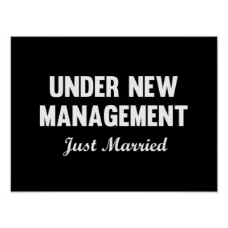 Under New Management Poster