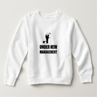 Under New Management Wedding Ball Chain Sweatshirt