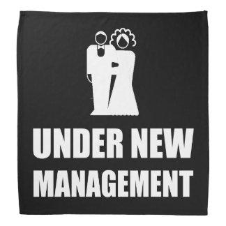 Under New Management Wedding Bandana