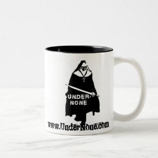 Under None UN Nun Mugs