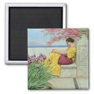 Under the Blossom that Hangs on the Bough, 1917 Square Magnet