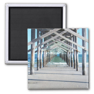 """Under the Boardwalk"" Magnet"