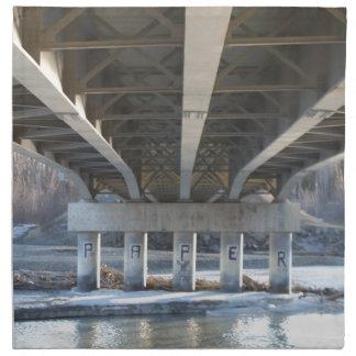 Under The Bridge Napkin