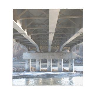 Under The Bridge Notepad