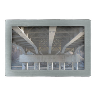Under The Bridge Rectangular Belt Buckle