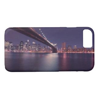 Under the Brooklyn Bridge New York Skyline iPhone 8/7 Case