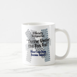 Under The Bus Classic White Mug
