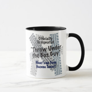 Under The Bus Ringer Mug