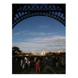Under the Eiffel Postcard