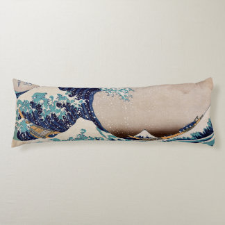 Under the Great Wave off Kanagawa Body Pillow
