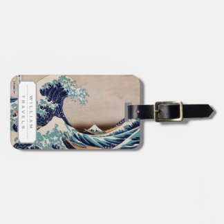 Under the Great Wave off Kanagawa Luggage Tag