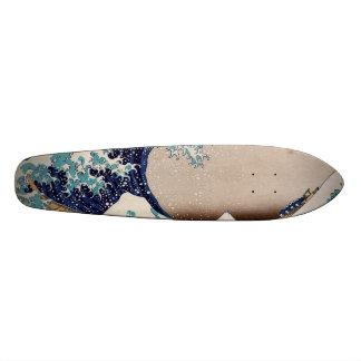 Under the Great Wave off Kanagawa Skateboard