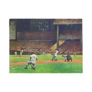 Under The Lights by John Falter Doormat