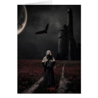 Under The Moon Card