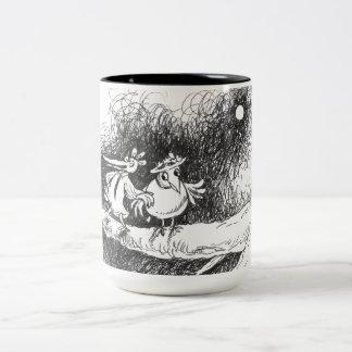 under the moon Two-Tone coffee mug