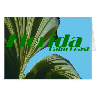 Under The Palm Tree Note Card