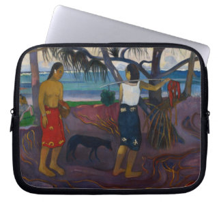 Under the Pandanus, 1891 (oil on canvas) Laptop Computer Sleeves