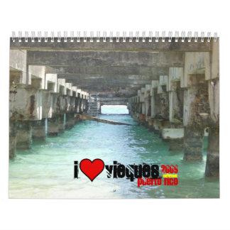 Under the Pier in Esperanza, heart, 2009, puert... Wall Calendars