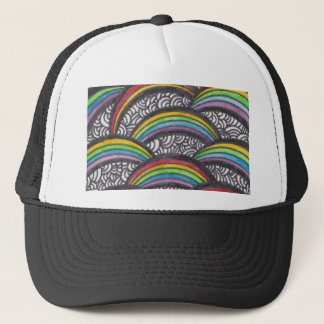 Under the Rainbow Trucker Hat