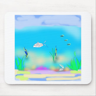 under-the-sea 1 mouse pad