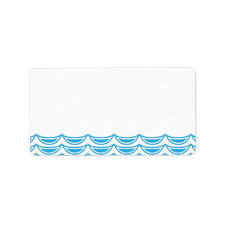 Under the Sea Address Labels