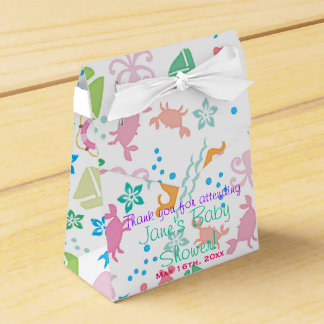 Under The Sea Baby Shower Favor Box