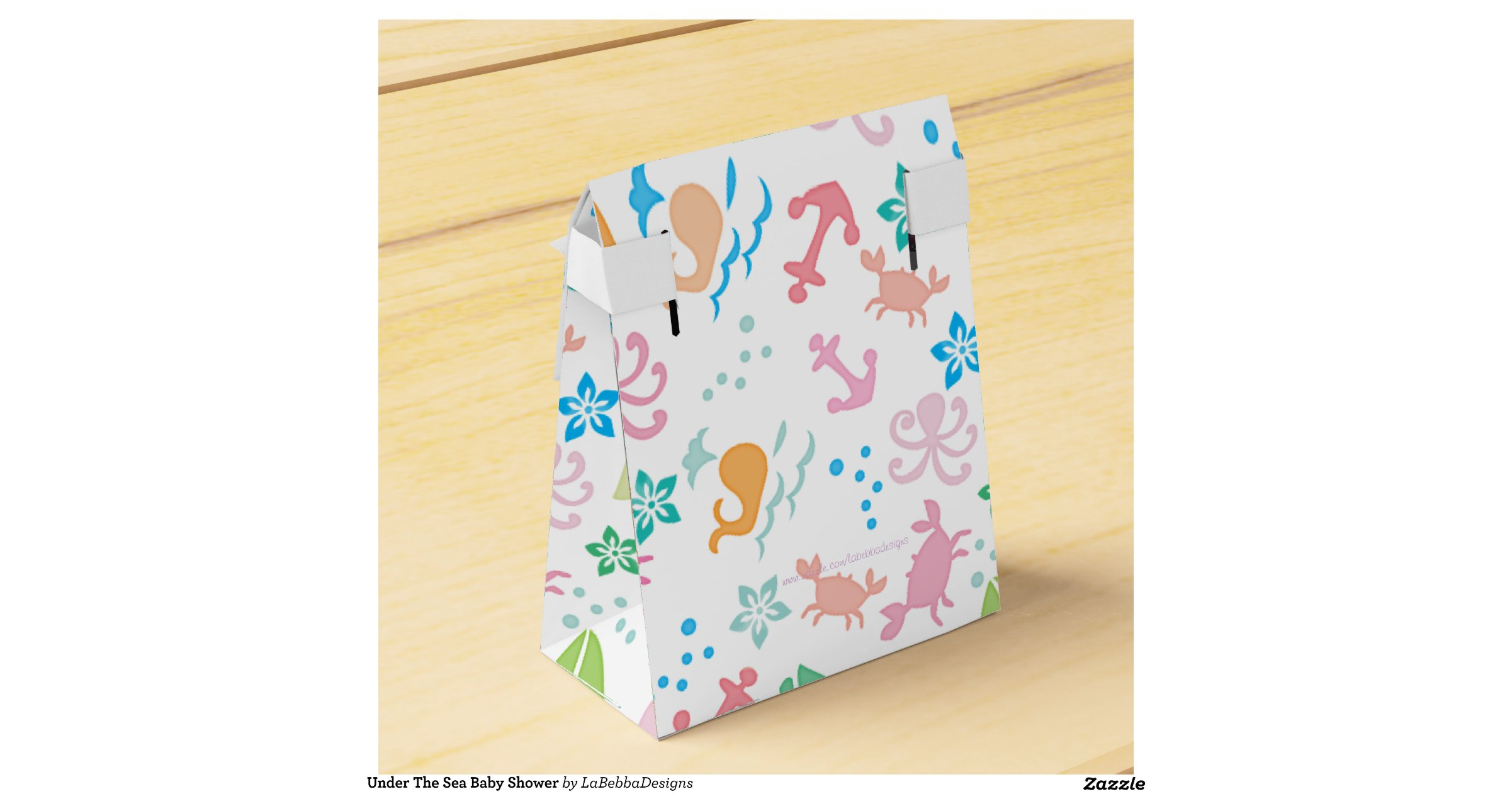 Baby Shower Favors Under 2 ~ Under the sea baby shower favor boxes zazzle