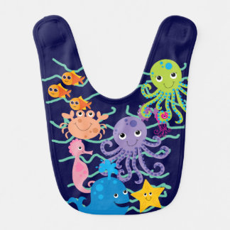 Under the Sea Bib