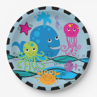Under the Sea Birthday Paper Plates