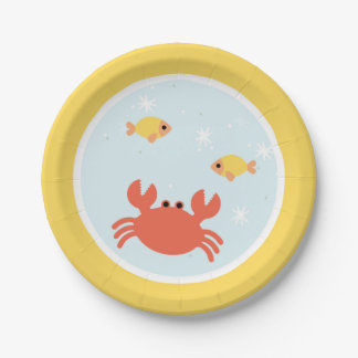 Under the Sea Birthday Party 7 Inch Paper Plate