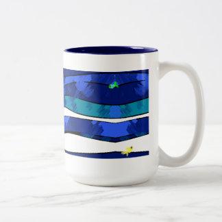 Under the Sea Blurry Mug