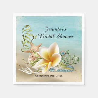Under the Sea Bridal Shower Disposable Napkin