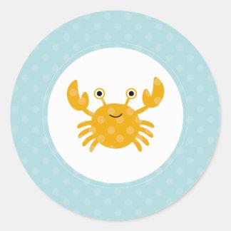 {under the sea} classic round sticker