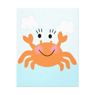 Under the Sea/Crab Canvas Art