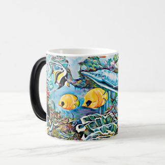 Under the Sea Creatures Ocean Coffee Mug