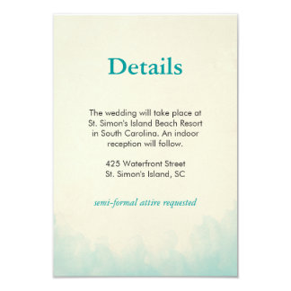 Under the Sea Details card