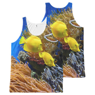 Under the Sea Fish Photography Print All-Over-Print Tank Top